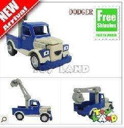 FREE SHIPPING Educationaltoys sets dollsbay dollstoplush Bob the builder die-cast Milk Truck Dodger MINT  Kid Toy Car 120pcs/lot