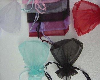 7x9cm Christmas/Wedding Jewelry Gift Organza bags