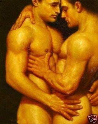 gay man nude: