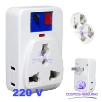 IR Wireless Remote AC Power Switch Outlet Socket Plug 220V