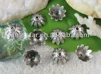FREE SHIPPING 240pcs Tibetan silver crafted bead caps A10153