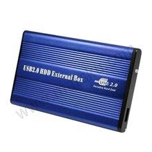 "10pcs/lot USB 2.0 2.5"" SATA HARD HD DRIVE CASE Enclosure Free shipping with Tracking Number B106(China (Mainland))"