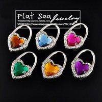 Love Lock series, folding over drilling handbag hanger,Bag Buckle,handbag hanger, bag holder,bag hook,handbag hook,Free shipping