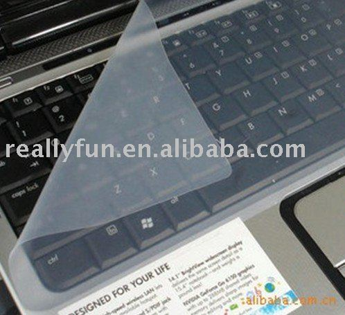 FREE SHIPPING Silicone notebook Keyboard Cover,Skin,protector 32cm*14.8cm for 7'' - 15'' laptop(China (Mainland))