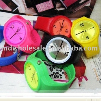 Wholesale Hotsale Colorful Silicone Watch ODM watch wristwatch 20pcs/lot fast delivery
