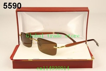 Wholesale - free shipping - Vogue Fangle Vision Care Goggles Rimless Glasses Spectacle frames Eyeglass Framess,ca149
