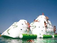 Inflatable ice berg, inflatable Climbing,water ,rock climbing,cliffwalks,water bouncer