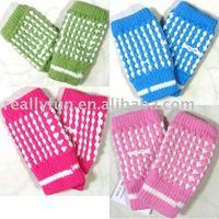 Pineapple knitting wool gloves,winter fingerless Typewriting gloves ,25 pairs/lot+Free Shipping