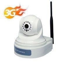3G IP H.264/MJPEG 3G(WCDMA) IP Camera Pan Tilt Rotary IR distance 10m CCTV PTZ CCD Camera CCD cct