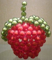 sales promotion:crystal beads apple animal,crystal take in apple box,