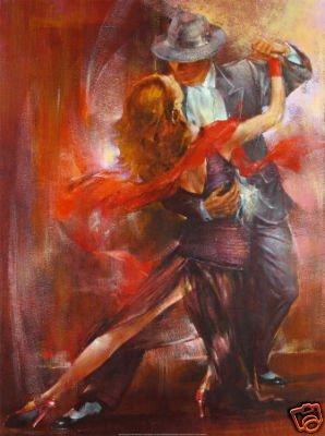 Plesno slikarstvo! - Page 2 Art-portrait-oil-painting-font-b-Tango-b-font-font-b-Dancer-b-font-24-36inch