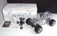 New - Large Scale 30cc Engine 4WD Big Foot Monster RC Truck,RTR VERSION with 2.4G LCD RADIO.