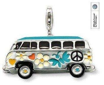 Wholesale Hot fashion 925 sterling silver multi-colored car pendant Super price !Free Shipping LP155