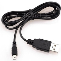 USB 2.0 A TO MINI B 5-PIN Cable For Digital Camera MP3 MP4