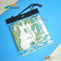 (Free Shipping)RDWB-052 Map Waterproof Pouch