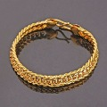 QUALITY 24KGP YELLOW GOLD CHAIN &amp; LINK BRACELETS, COME WITH A FREE EXQUISITE GIFT BOX!  (H2C1334-LIPG10)
