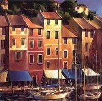 Landscape oil painting ,Venice Landscape, Hot,Contemporary Art (Hand painted canvas art )Venice-018