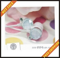 Free shipping by EMS-20pc/lot--New arrival earphones headphonese Sound Isolating  for cellphone mobilephone PSP mp3 mp4