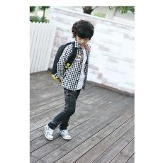 atacado e varejo 2011 nova primavera arrivel crianças malha camisa frete grátis(China (Mainland))