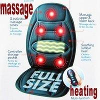 Wholesale and Retail,Walmart Car&Chair Back Seat massage Heated Cushion,Warmer Cushion