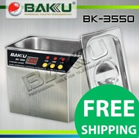 FAST shipping! Stainless Steel Ultrasonic cleaner,Brand BAKU,BK-3550.used for communications equipment