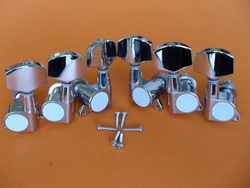 3L+3R Chrome guitar tuning pegs machince head for Acoustic guitar(China (Mainland))