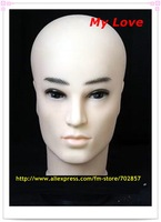 styrofoam head,mannequin head stand,Male Mannequin Head Free Shipping