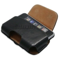BELT CLIP LEATHER CASE COVER FOR APPLE iPHONE 4 4G 4TH