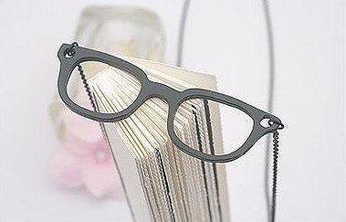 Old Ways Reverted Retro-Chic Black Glasses Necklace10pcs/lot & Free Shipping(China (Mainland))