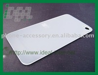 For iPhone 4 Back Cover, white and black available