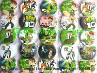 Wholesale - 10 sheets 480pcs ben 10 Badge Button Pin 4.5CM party favor Free Shipping