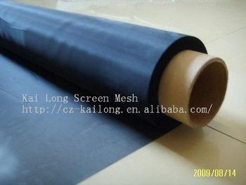 BLACK Mesh count 200 100%Polyester dustproof screen mesh wholesale dustproof waterproof free customer logo