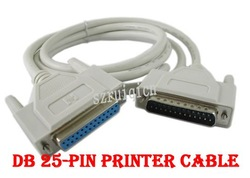 DB25 25 Pin Parallel Male to Female LPT Printer Cable(China (Mainland))