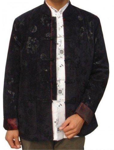 Oriental tradicional dragão dos homens roupas jaqueta / casaco SZ : M-3XL(China (Mainland))