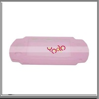 Free Shipping From USA! Wholesal 10pcs/lot! 100% New! High Quality + Pink Silicone Case For PSP3000 - VG901PI
