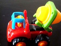 2013 style birthday gift baby Friction moped truck car toy engineering truck car toy kids birthday gift