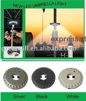 Wholesale Super Bright Outdoor Patio LED Umbrella Light 30pcs/lot best selling free shipping 00621