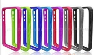 free shipping original Silicon Frame Case for iphone 4