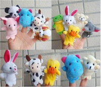 Wholesale-Plush Animal Finger Puppet+Finger Wear Toys+Plush Toys+Animal Finger Puppet+Fast delivery