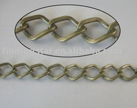 FREE SHIPPING 4 Meters antiqued bronze diamond metal chain 13x10mm M18691