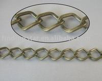 FREE SHIPPING 4 Meters antiqued bronze diamond metal chain 13x10mm M18691