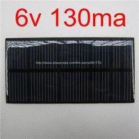 6V 130mA 0.78W solar panel PV solar power PCB panels epoxy covered solar panels 20pcs/lot fast shipping