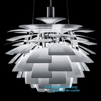 Free Shipping Hot Selling Wholesale Louis Poulsen PH Artichoke Lamp White Denmark Modern Suspension  Pendant Light   Repllica