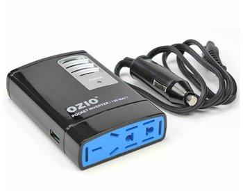 130W Car Auto 12V/24V DC to 220V/110V AC Power Pocket Inverter