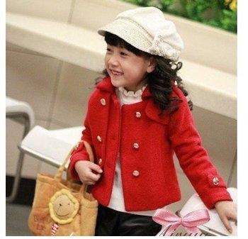Girls' Outerwear children's coat kids coats girl's garment baby's coat girl's Blazer 05