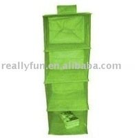 four-layer hanging storage bag. hanging closet/shelf/container.hanging storage organizer