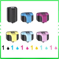 6x Ink Cartridge for HP 02 Photosmart 3113 3210 3310 8230 8250 c7200 c6288 c7250 c6285 c76275 d7260