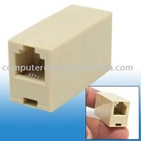 100pcs RJ11 Phone Line Cable Coupler