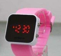 fashion led watch, silicone mirror watch rw024