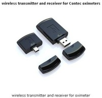 free shipping wireless transmitter and receiver for Contec oximeters